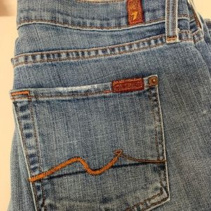 7 For All Mankind Boot Cut Jeans Size 28